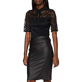 Morgan Tshirt mpi cement Dentelle TINCO T-Shirt, Black (Noir), X-Small (Size Manufacturer: TXS) Women's