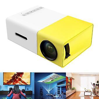Mini LED 480x272 pikseli obsługuje 1080p Hdmi Usb Audio Media Players Przenośny