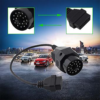 New 20 Pin To Obd2 Obd 2 Female 16pin Connector Adapter Cable For Bmw