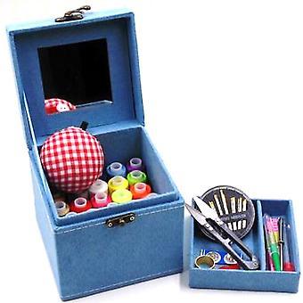 New Household Sewing Kit Stitch Needle Thread Storage Box ES9861