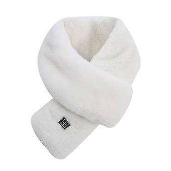 Écharpe de chauffage USB blanche écharpe de chauffage unisexe contrôle intelligent écharpe chauffante à trois vitesses x6701