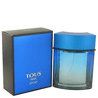 Tous Man Sport By Tous Eau De Toilette Spray 3.4 Oz (men)