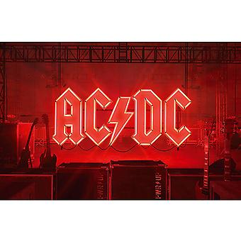 AC/DC - Poster tessile PWR-UP