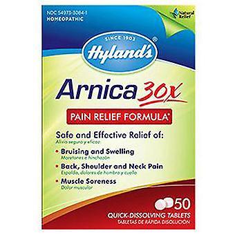 Hylands Arnica 30X, 50 Tab