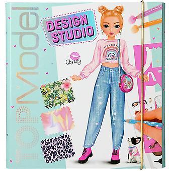 TOP Model Create Your Own Design Studio Colouring Book