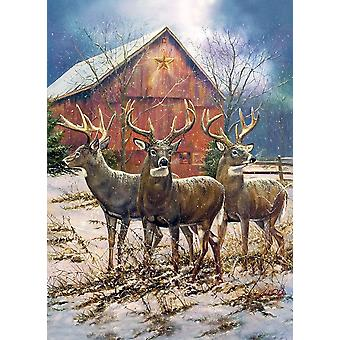 Cobble Hill Three Kings Jigsaw Puzzle (1000 Pieces)