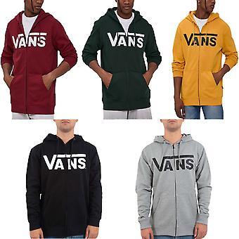 Vans Mens Classic Zipped Hooded Jacket Hoodie Sweatshirt Top