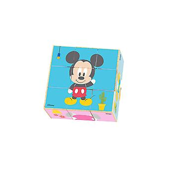 Disney Wooden Mickey Mouse Block Puzzle