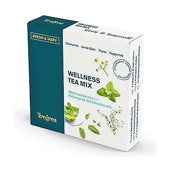 Wellness tea mix, chamomile, lemon basil, thyme and mint 4 units