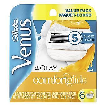 Gillette Venus met OLAY Comfortglide Blades 6-pack