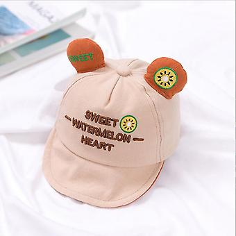 Korvat Vauvan hattu Dot Vauvan hattu Pehmeä Brim Cap Baby Baseball Cap Summer Sun