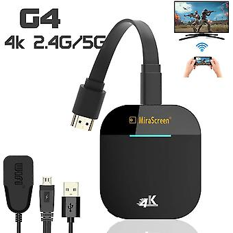Mirascreen G5 2.4g 5g 1080p 4k Langaton Hdmi Dongle Tv Stick Miracast Airplay