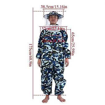 Beekeeping Suit Professional Beekeeper Protective Outfit Beekeeper Protect Equipment Tip L Code