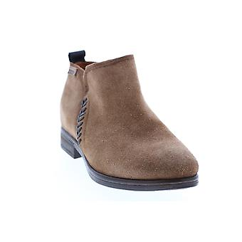 Pikolinos Adult Womens Ordino Suede Flat Ankle Zip Boot Casual Dress Boots