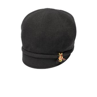 Goorin brothers ladies hooty drop-slope cloche hat - charcoal