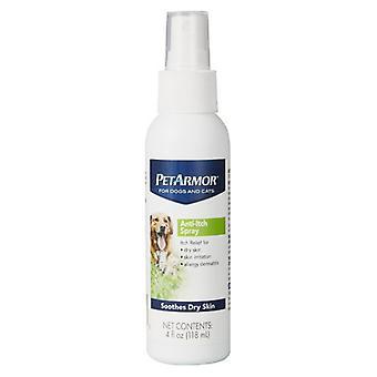 PetArmor المضادة للحكة رذاذ لل والقطط يهدئ البشرة الجافة - 3 أوقية