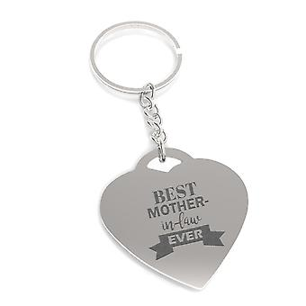 Best Mother-in-law Ever Key Chain Mothers Day Or Holiday Gifts For Mother In Law