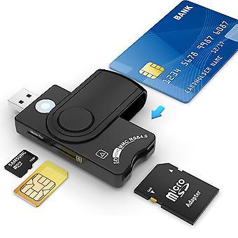 Čítačka kariet Usb 3.0, čítačka usb kariet Cac/dod, sdhc/sdxc/sd&micro