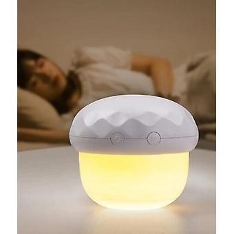 Pilz Projektion Atmosphäre Lampe im Schlafzimmer Bett (weiß)