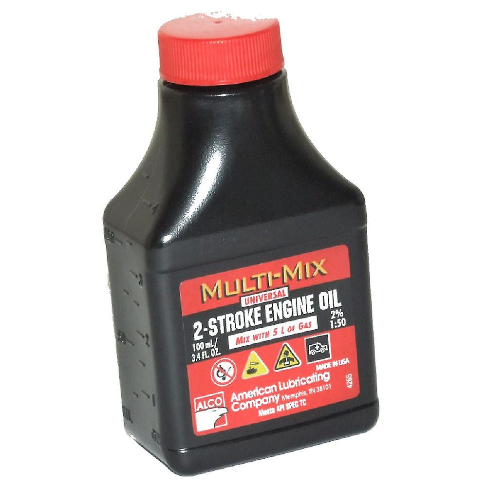 10 x Two (2) Stroke Oil One Shot Bottles 50:1 Mix Ideal For Stihl Chainsaw