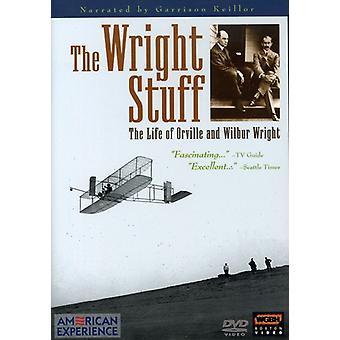 Wright Stuff [DVD] USA import