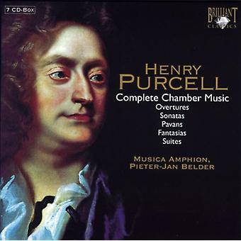 H. Purcell - Purcell: Komplett Chamber Music [CD] USA import