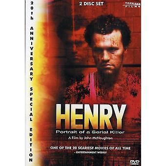Henry-Portrait of a Serial Killer [DVD] USA import
