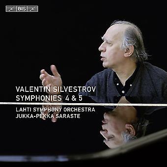 V. Silvestrov - Valentin Silvestrov: Symphonies Nos. 4 & 5 [CD] USA import