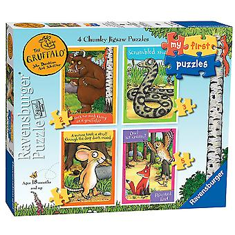 Ravensburger My First Puzzle The Gruffalo (2 3 4 5) Jigsaw