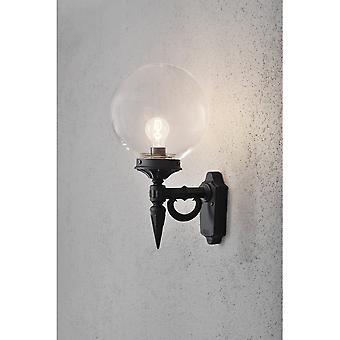أوريون كونستسميدي خارج الجدار الأسود الضوء مع الزجاج بولا