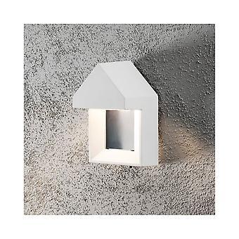 Białe światło ganek nowoczesne ściany Scandavian Konstsmide Cosenza