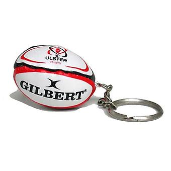 GILBERT ulster rugby ball key ring