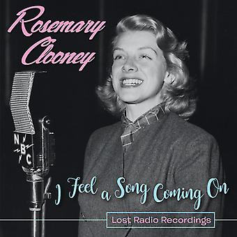 Clooney*Rosemary - I Feel a Song Coming on - Lost Radio Recordings [CD] USA import