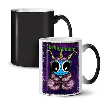 Animal Cool Weird Funny NEW Black Colour Changing Tea Coffee Ceramic Mug 11 oz | Wellcoda