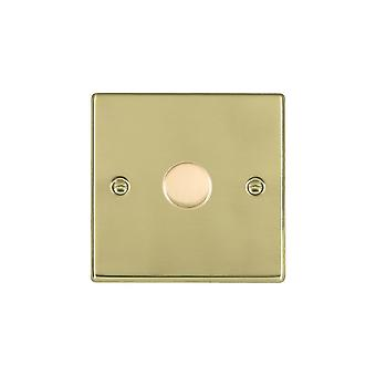 Hamilton Litestat Hartland poli laiton 1g 100W LED variateur PB
