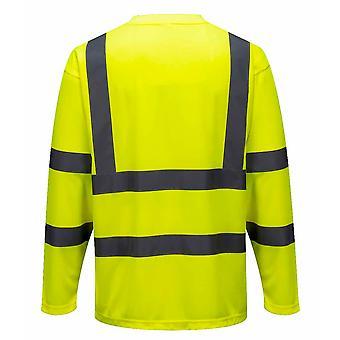 Portwest - Hi-Vis Odzież robocza Z długim rękawem Comfort T-Shirt