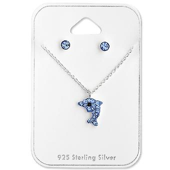 Dolphin - 925 Sterling Silver Sets - W28977X