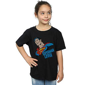 DC Comics Girls Superman Lover T-Shirt