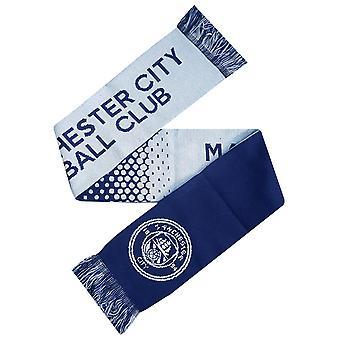 Manchester City FC officiel Fade écharpe Supporters de Football Crest
