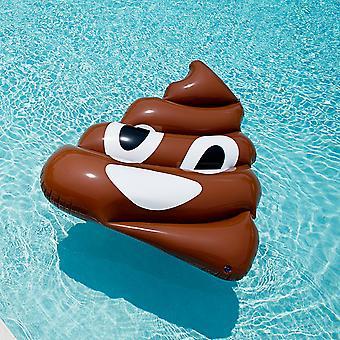 Giant Inflatable Emoji Poop Floatie