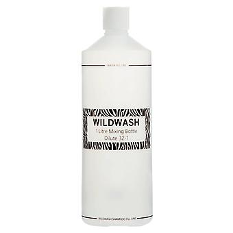 Wildwash Shampoo Mixing Bottle - Work Out Dilution Rates Easily, 1L