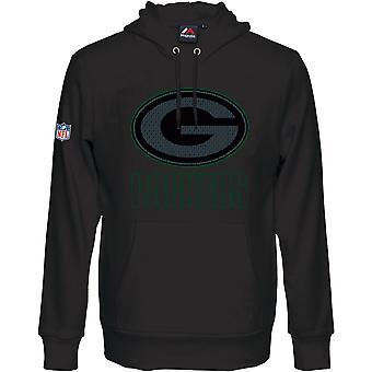 Majestic HEATHLY Hoody - NFL Green Bay Packers black