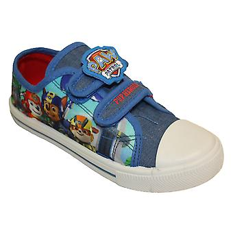 Paw Patrol chłopców Peinda Cartoon Touch blisko Low Top Buty