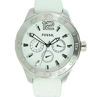Homme fossile montre de silicone de montre de poignet BQ1163