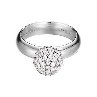 ESPRIT women's ring silver zirconia sfären ESRG92309A1