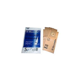Electrolux papier vacuümzak - Pack van 5 (E43)