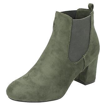 Damen Anne Michelle blockiert Heel Ankle Boots F50586