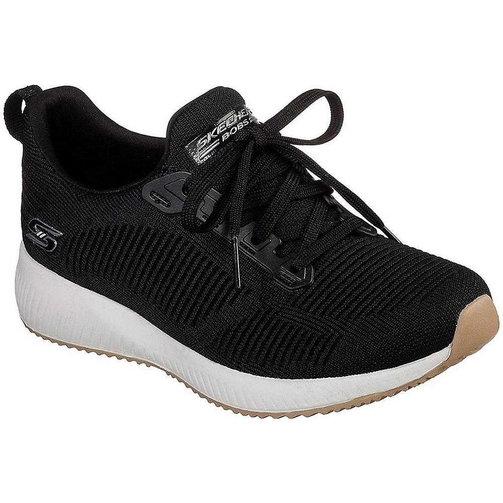 Skechers Bobs Squad 31362BLK universal all year women shoes 0xARZ