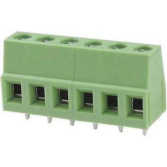 Degson DG128-5.0-02P-14-00AH-1 Schroefklem 3,31 mm² Aantal pinnen 2 Groen 1 st(en)