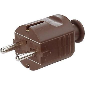 GAO 620309 veiligheid stekker kunststof 230 V Brown IP20